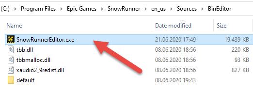 editor exe file