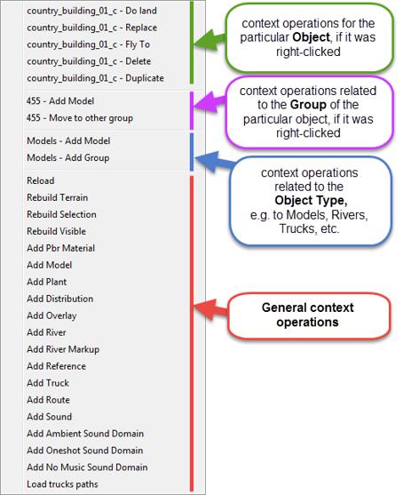 12 context menu