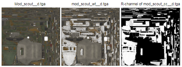3 pictures of maps