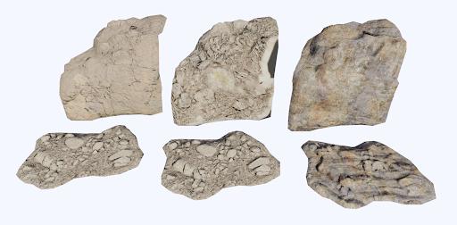 4 rock materials