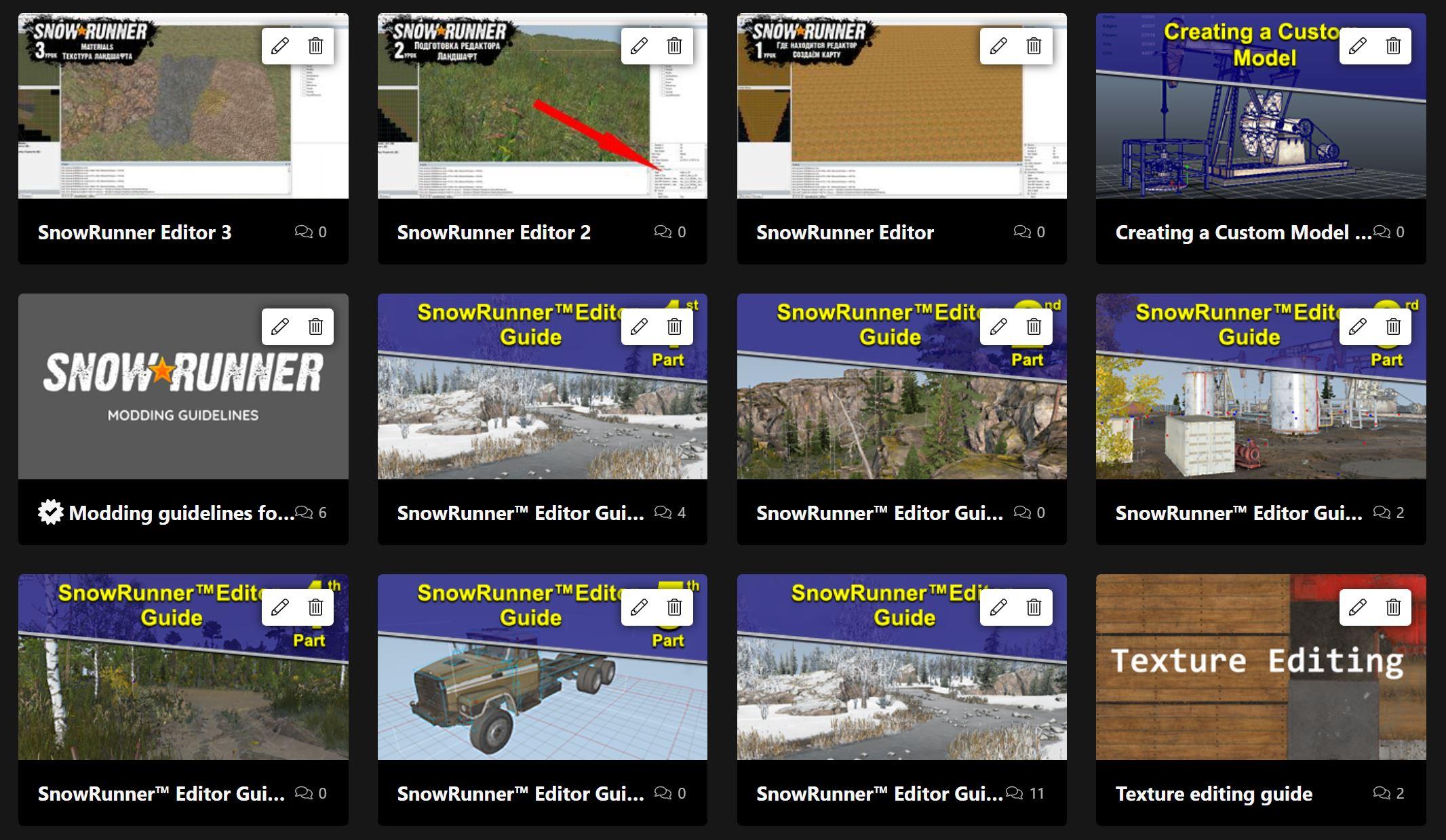 SnowRunner modding and development guide