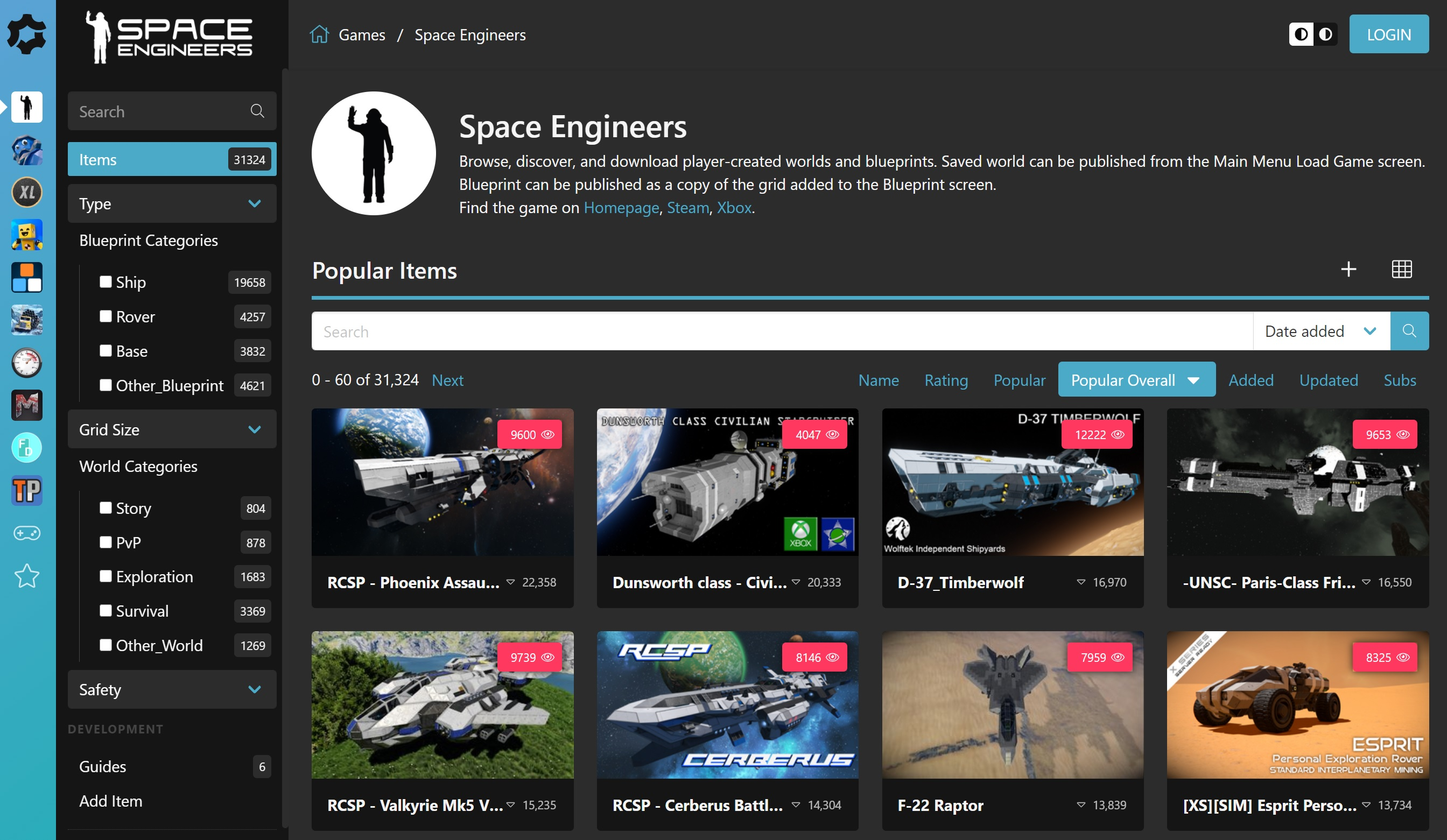 Space Engineers on Xbox with mod.io
