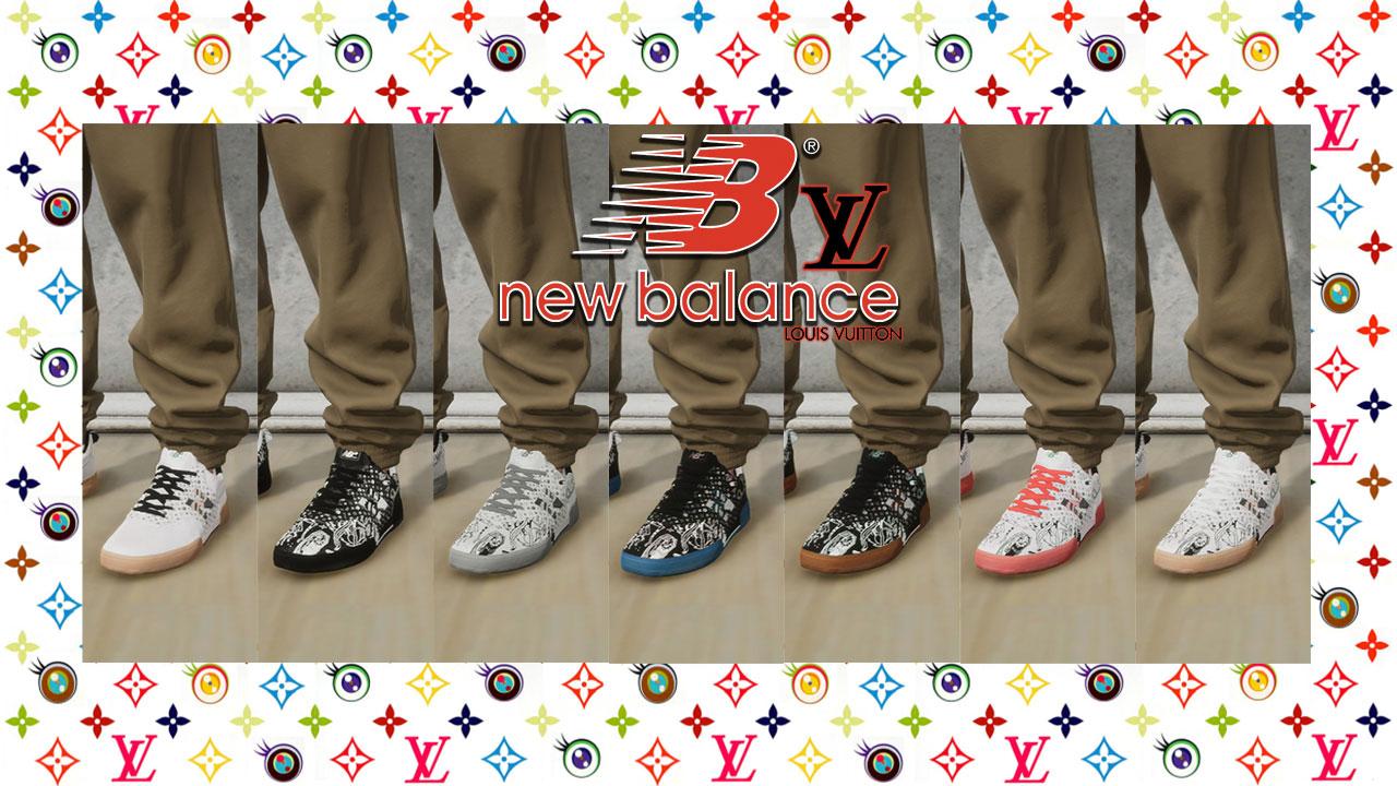 New Balance 288S & Louis Vuitton Shoe Pack mod for Skater XL - mod.io