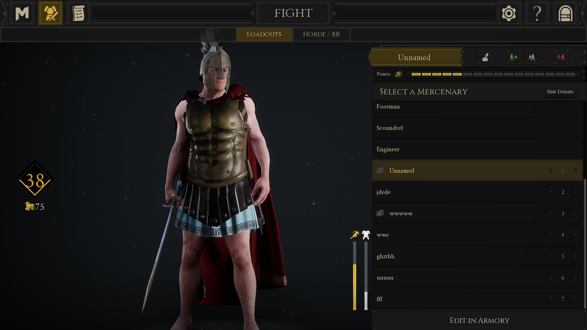 Spartan And Athenian Armory Mod For MORDHAU