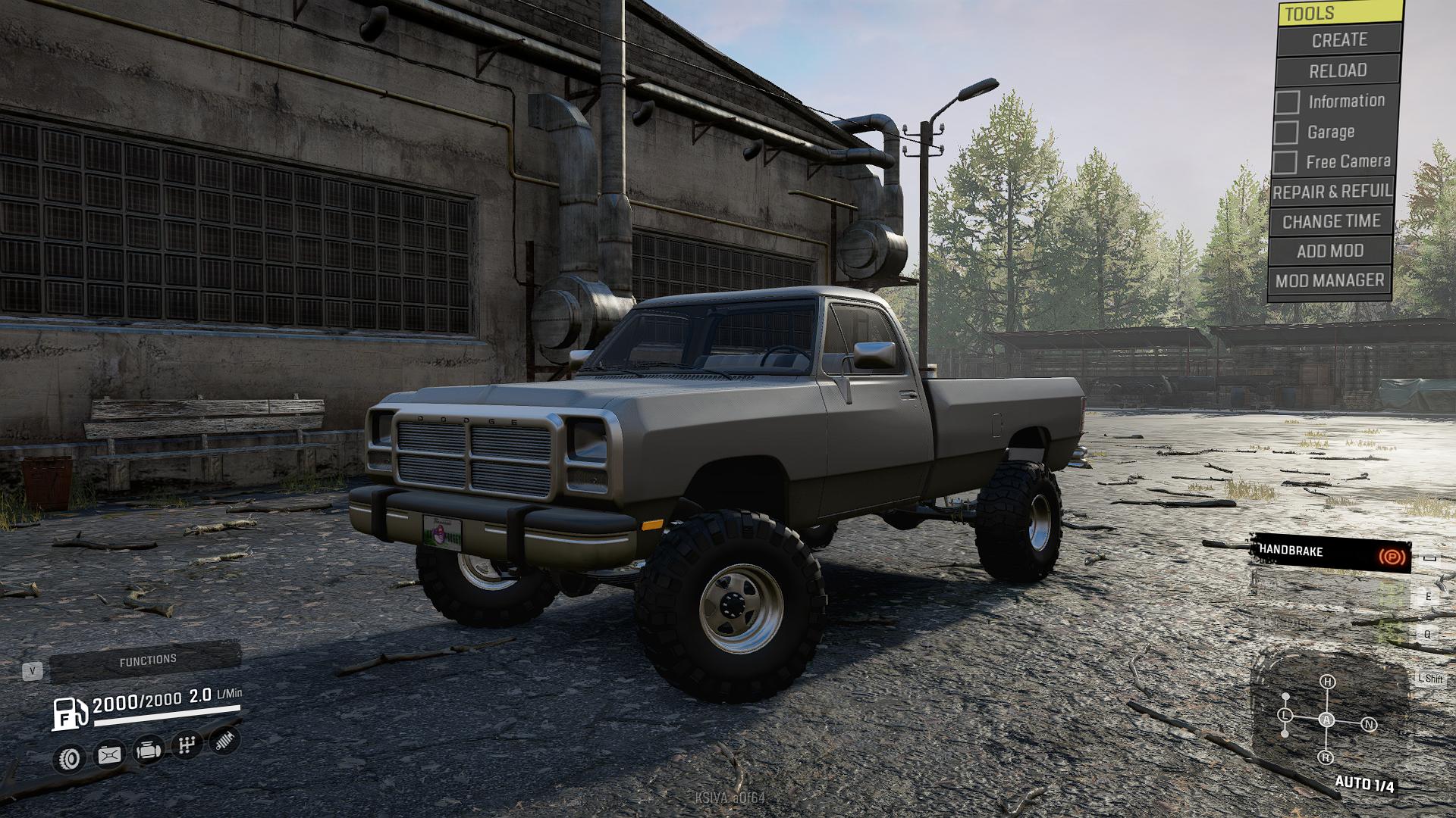 Frog S 1st Gen Dodge Ram Mod For Snowrunner Mod Io